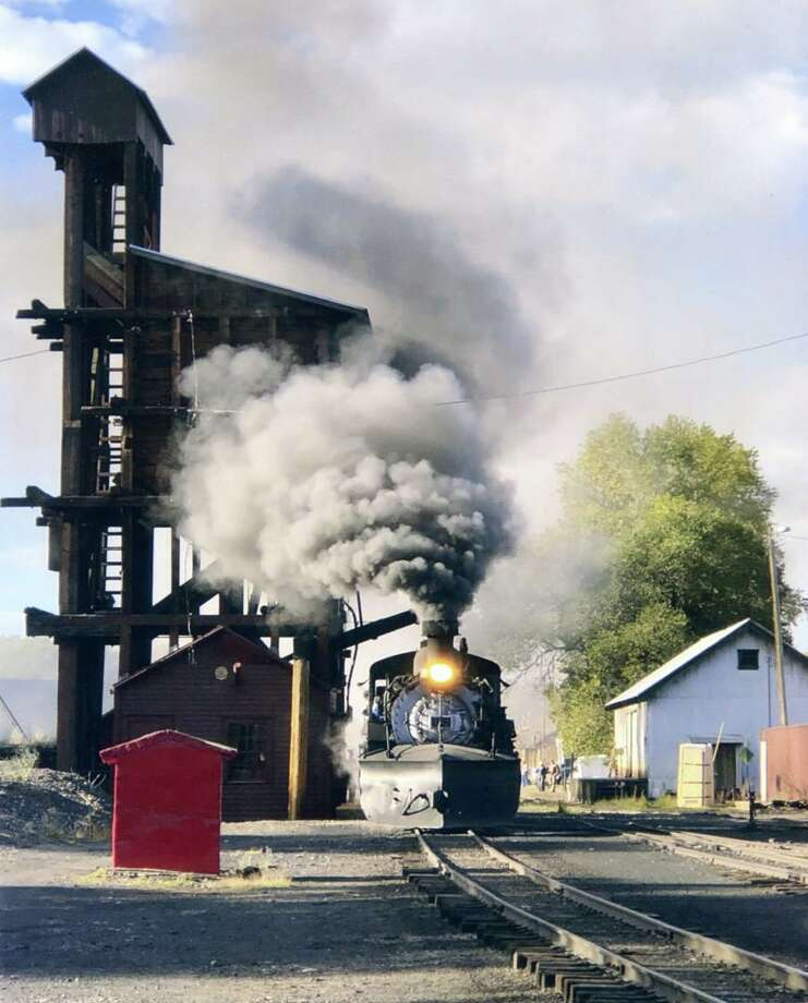 "The photo ""Narrow-Gauge Steam"" was the top winner in the 2018 Gulf Coast Chapter NRHS Photo Contest. The photo won both the David M. See Best of Show Award and the Robert H. Sunderland People's Choice Award in the Gulf Coast Chapter - National Railway Historical Society's 35th Annual Railroad Photography Contest. The dramatic photo was submitted by chapter member Christine Stigale. Her photo of Cumbres & Toltec No. 497 ready for action at Chama, N.M., was the only photo submitted to be awarded more than 40 points by the contest judges. In addition, the photo received 81 of the 234 People's Choice ballots submitted while the contest entries were on display at the Tomball Community Center during the Dec. 8-9 German Christmas Market & Festival. The 2019 contest is now accepting entries through Nov. 23. Photo: Photo Courtesy The Gulf Coast Chapter - National Railway Historical Society"