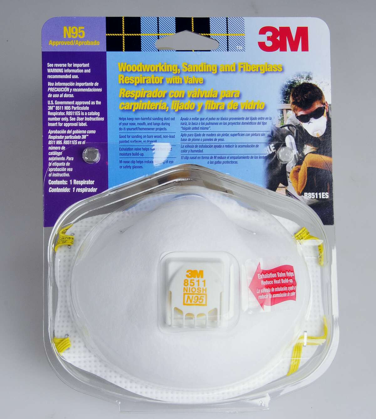 N95 masks feature particulate respirators, are designed to filter at least 95 percent of airborne particles and are approved by the National Institute for Occupational Safety and Health.