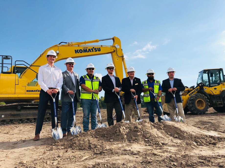 Jackson Shaw and CBRE hosted a ground breaking at the Parc 59 industrial development near Bush Intercontinental Airport in Humble on Sept. 12, 2019. Photo: Cadence McShane Construction