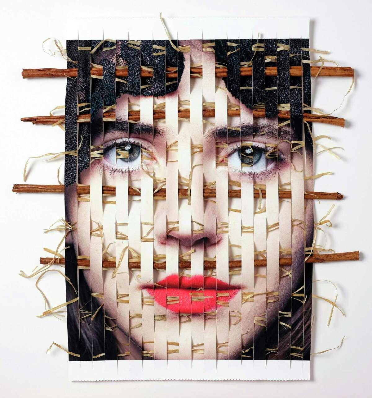 Mexican artist Lou Peraulta's first U.S. exhibition,