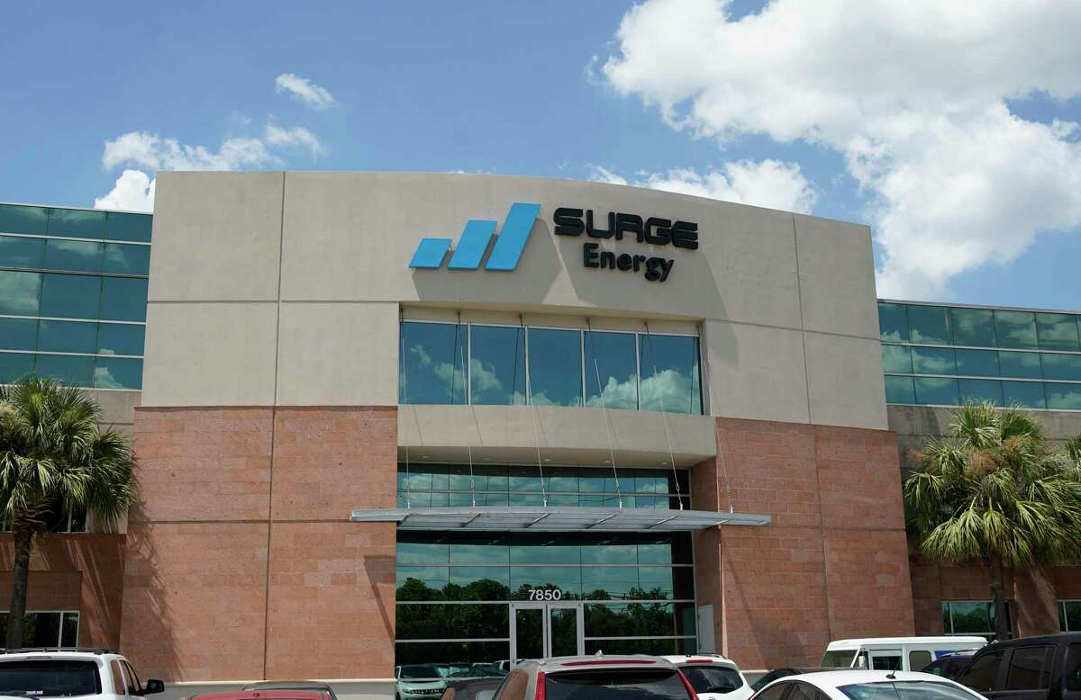 Surge Energy, 7850 N. Sam Houston Parkway West, is shown Tuesday, Aug. 13, 2019, in Houston. Linhua Guan is the CEO and Dexter Burleigh is the president.