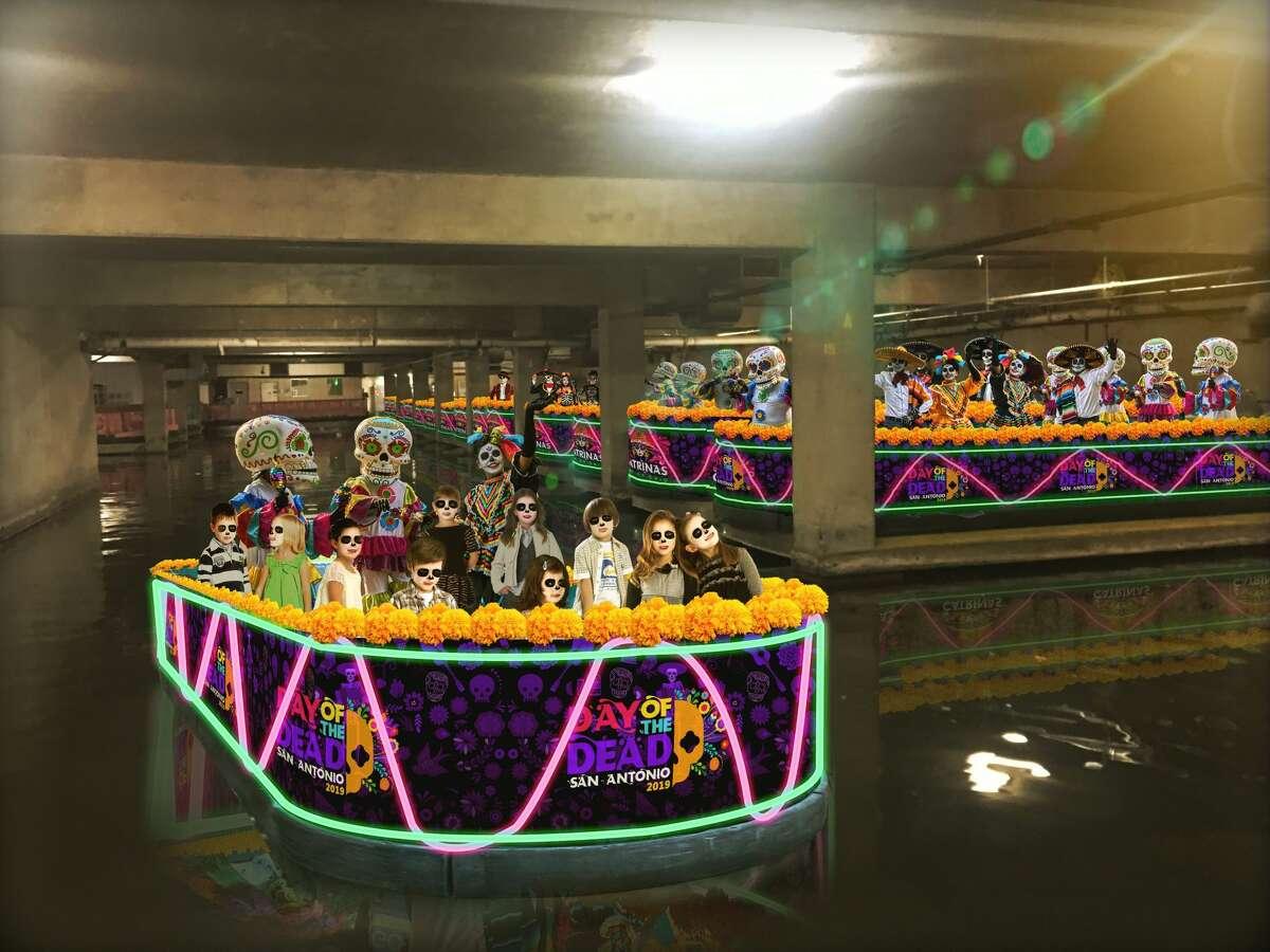 The following are renderings of the Día de los Muertos festival coming to San Antonio this November.
