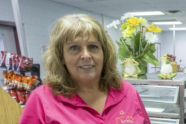 Michelle Woods, MISD cafeteria manager. 09/13/19 Tim Fischer/Reporter-Telegram