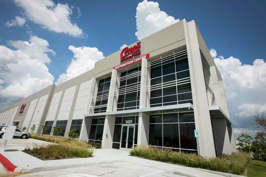 The exterior of Conn's new 657,000-square-foot multi-division distribution center on Thursday, September 12, 2019, in Houston. Photo: Annie Mulligan, Contributor / © 2019 Annie Mulligan