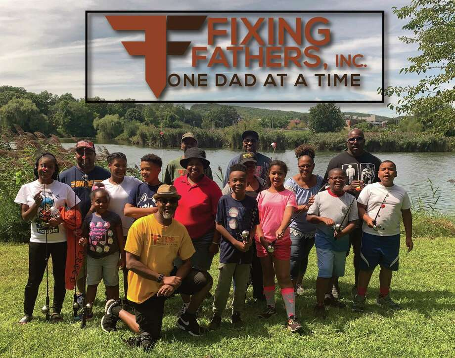 Fixing Fathers, Inc., held its annual Fishing with Dads event Aug. 31 at Beaver Pond Park, New Haven. Parents and their children were treated to a two-hour informative training session, facilitated by Doreen Abubaker and Loreen Lawrence who are certified instructors for CT Aquatic Resource Education. Photo: Contributed Photo