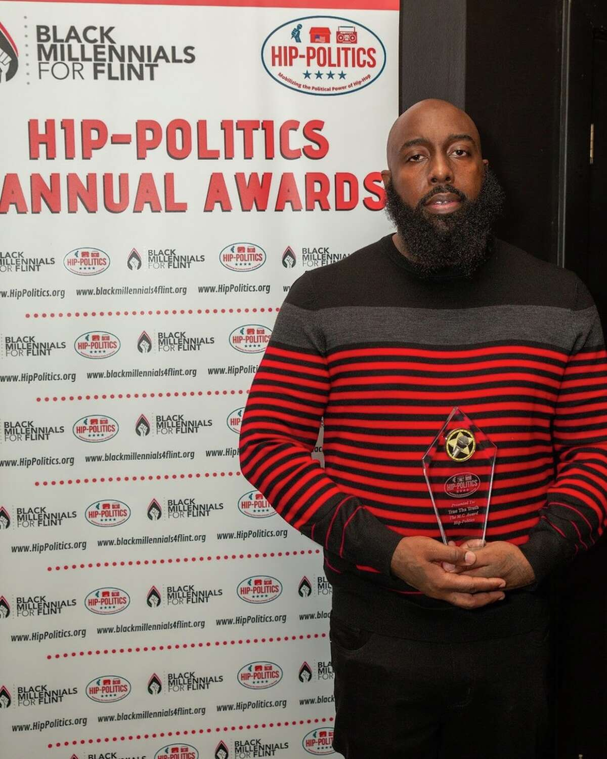 Houston's Trae Tha Truth and Scarface were honored at the Congressional Black Caucus annual conference in Washington DC for their community activism and political work