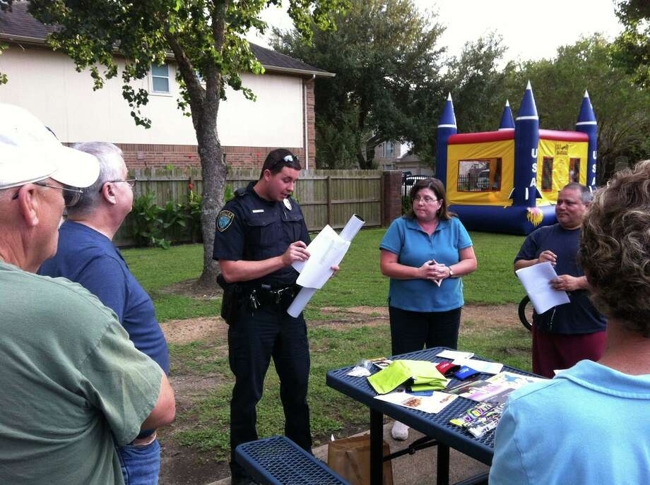 Deer Park communities have staged gatherings for National Night Out for decades. Photo: Sheila Plovanich / Deer Park Police Dept. / Deer Park Police Dept.