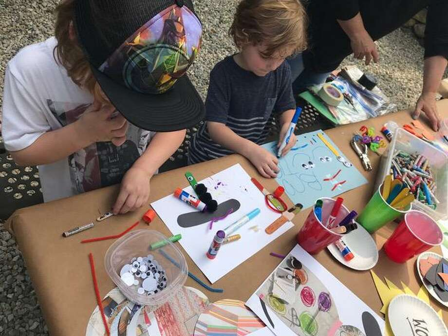 Family Art Day at the Carriage Barn Art Center, creative activities for children and caregivers, will be held Wednesday, Oct. 9, from 10 a.m. to 1 p.m. Admission is free for members, and $5 per child. Photo: Contributed Photo / Carriage Barn Arts Center / New Canaan Advertiser Contributed