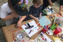 Family Art Day at the Carriage Barn Art Center, creative activities for children and caregivers, will be held Wednesday, Oct. 9, from 10 a.m. to 1 p.m. Admission is free for members, $5 per child.