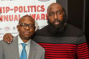 Houston's Trae Tha Truth and Scarface were honored at the Congressional Black Caucus annual conference in Washington DC for their community activism and political work.
