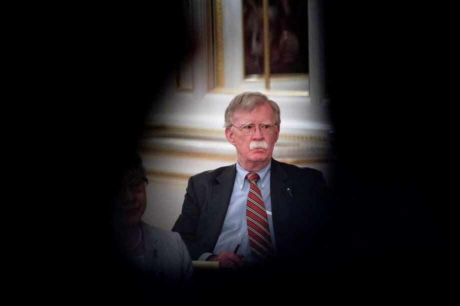 With the exit of national security adviser John Bolton, a reader suggests a White House modification. Photo: Erin Schaff / New York Times / NYTNS