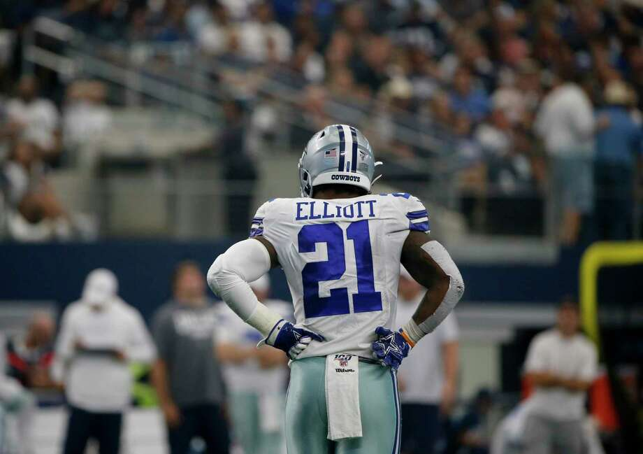 A reader compares Dallas Cowboy Ezekiel Elliott's salary to that of a successful teacher. Photo: Michael Ainsworth / Associated Press / Copyright 2019 The Associated Press. All rights reserved.