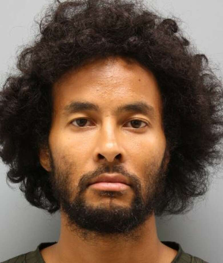 Akira Keir Smith is charged with murder in the stabbing death of 31-year-old Bernabe Torres. Photo: Harris County Sheriff's Office