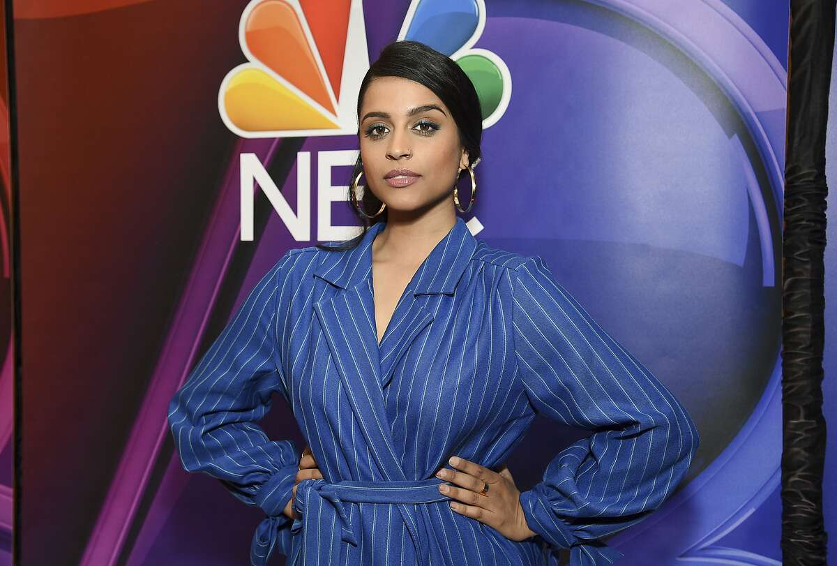 FILE - This May 13, 2019 file photo shows Lilly Singh at the NBC 2019/20 Upfront in New York. Singh's late-night show