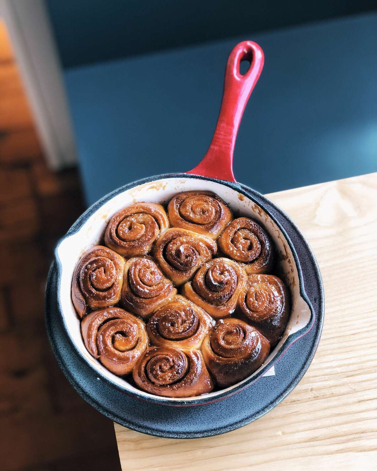 Sawyer-Ballard Seated in a renovated 1920s sawmill, Sawyer pulls out all means of photogenic cast iron skillets packed with cinnamon roll monkey bread smothered in cream cheese frosting and udon noodles speckled with scrambled eggs and scallions on Sundays from 10 a.m.-2 p.m..