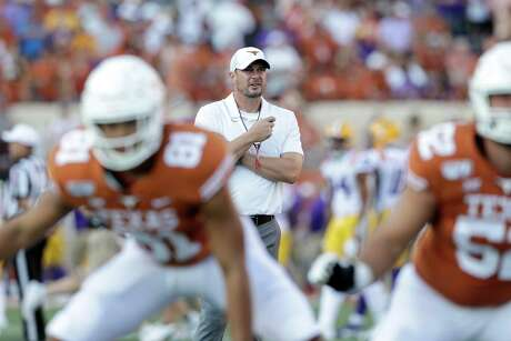 """""""Chris Del Conte, that's where we first connected, and where I first found Yancy McKnight. So I think that's pretty significant.""""Texas coach Tom Herman"""