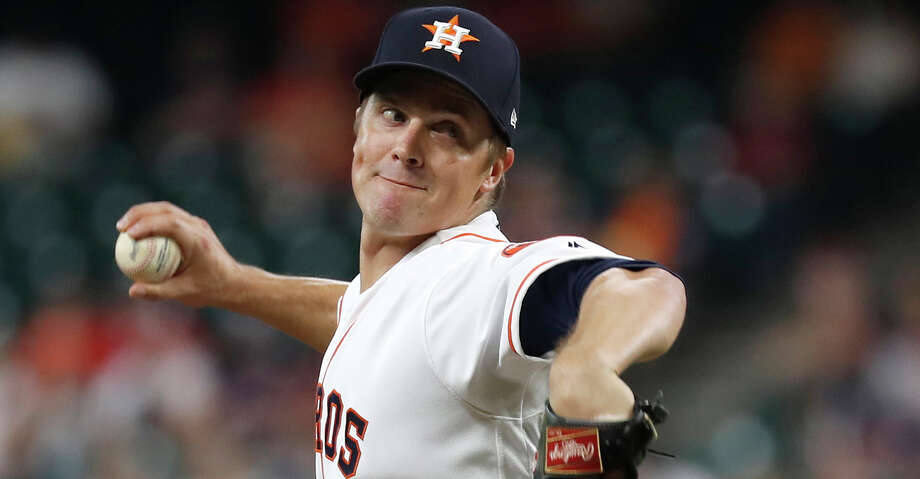 PHOTOS: Astros game-by-game Houston Astros starting pitcher Zack Greinke (21) pitches during the first inning of an MLB baseball game at Minute Maid Park, Monday, Sept. 9, 2019, in Houston. Browse through the photos to see how the Astros have fared in each game this season. Photo: Karen Warren/Staff Photographer / © 2019 Houston Chronicle