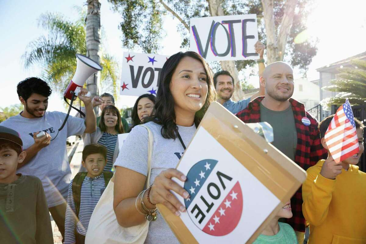 In Texas, Hispanic Americans make up 30 percent of eligible voters.