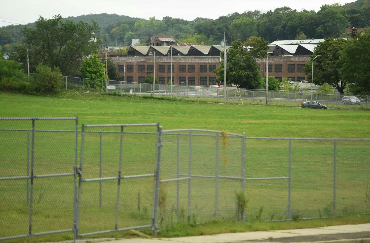 A $14 million sports center is being proposed for the Olson Drive property, the former site of a public housing complex, in Ansonia.