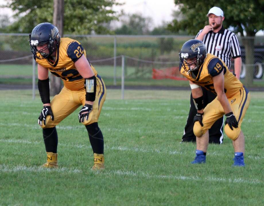 North Huron hosts Carsonville-Port Salinac in what was a 44-6 victory for the Warriors. Photo: Eric Rutter / Huron Daily Tribune