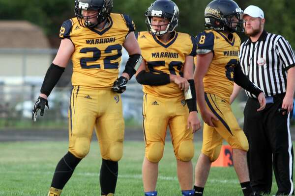 North Huron hosts Carsonville-Port Salinac in what was a 44-6 victory for the Warriors.