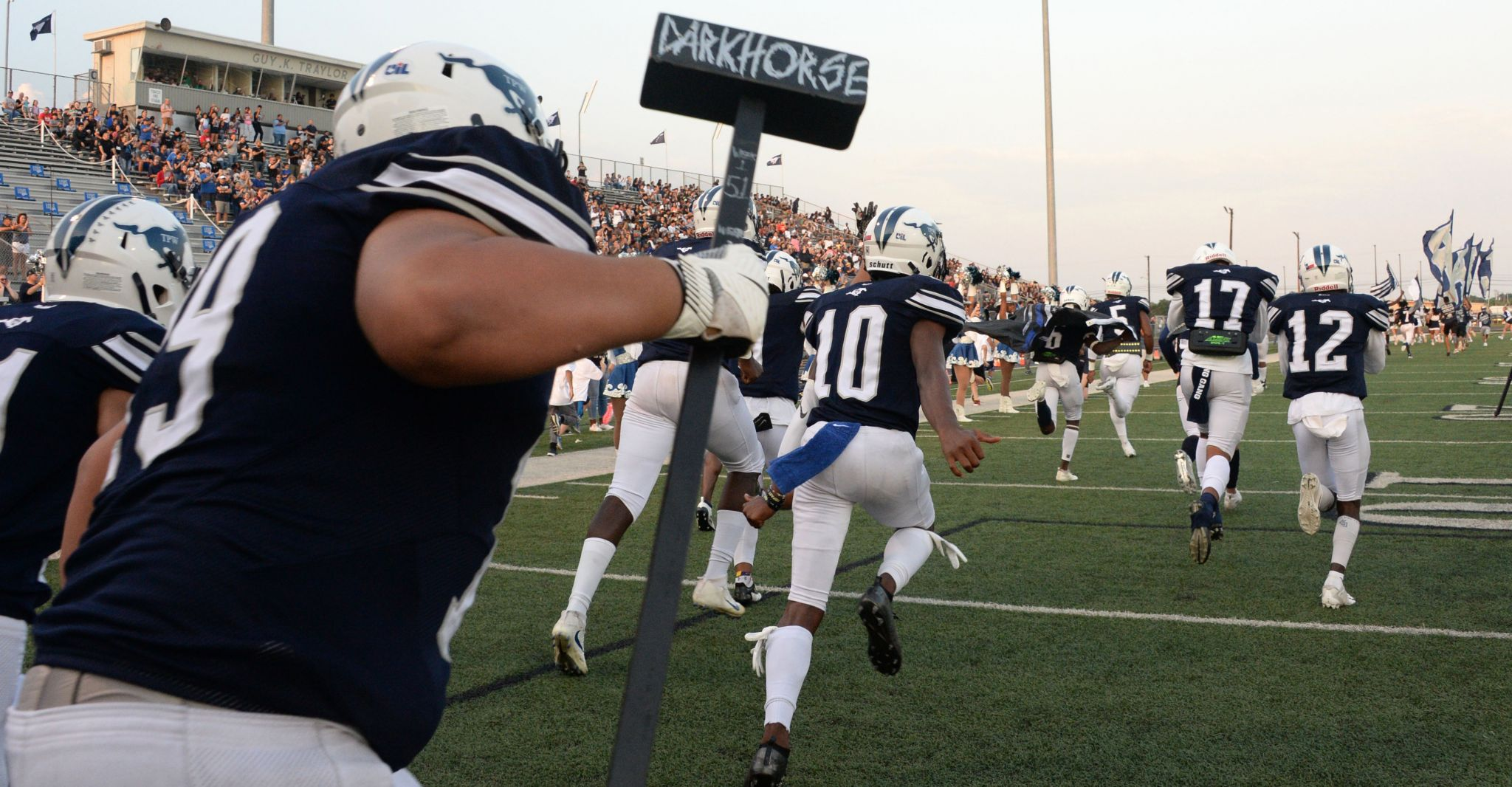 Friday night football scores from across Texas