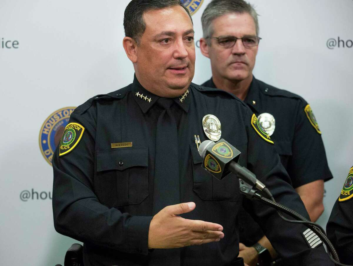 """Police Chief Art Acevedo said the police department has put """"a disproportionate effort into combating violent crime."""""""