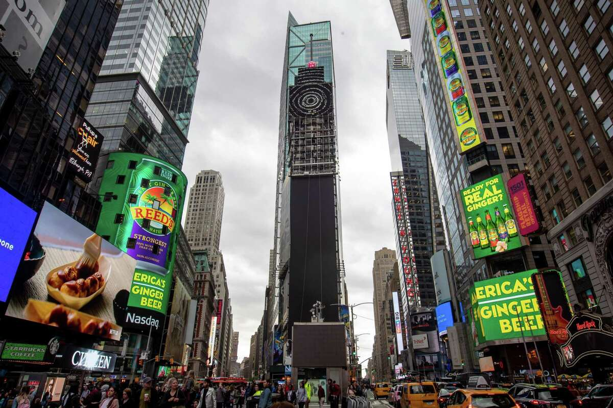 Reed's advertising at Times Square in New York City in this spring.