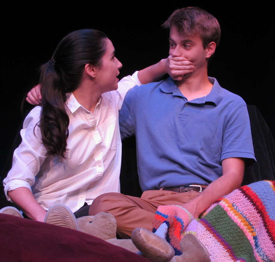 """Montana Lampert Hoover and Eric Fleising in the world premiere of """"Better"""" at Bridge Street Theatre in Catskill. (BST publicity photo by by John Sowle.) Photo: John Sowle, Bridge Street Theatre"""