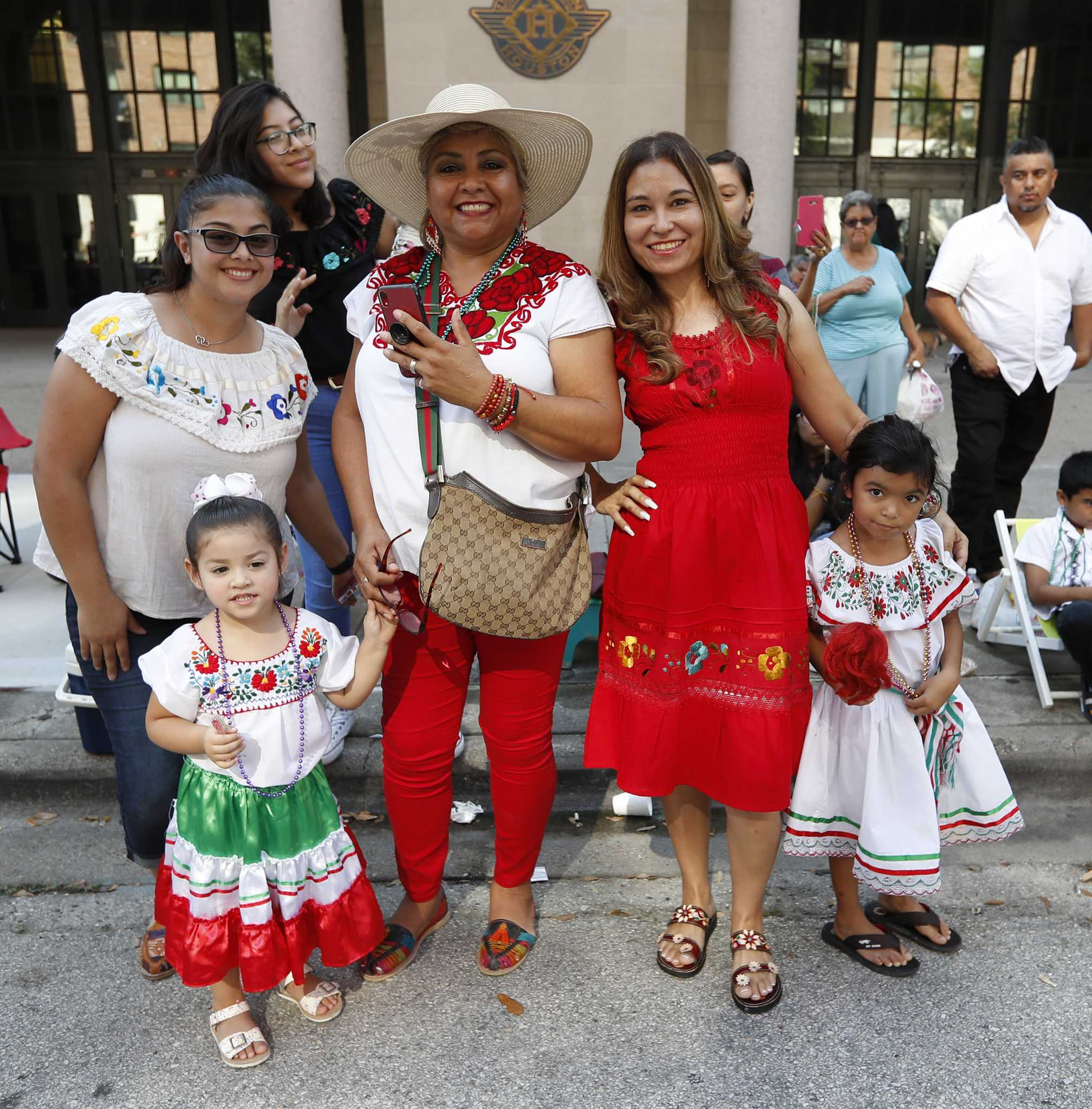 Downtown Houston was green, white and red for the 2019 Fiestas Patrias Parade