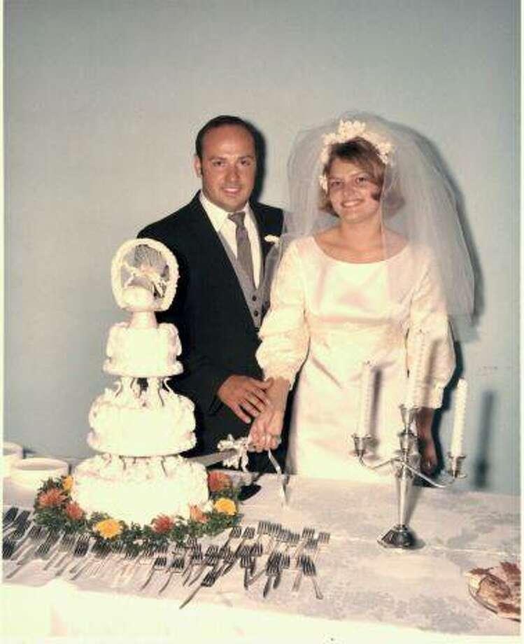The Arnolds' wedding