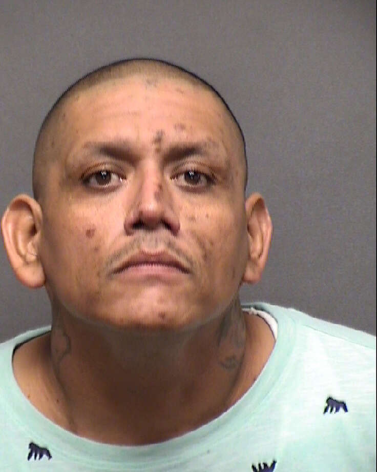 Bobby Joe Martinez, 38, was arrested Saturday for allegedly stalking a woman. Police said he showed up at the victim's home and workplace to threaten her nearly 60 times. Photo: Courtesy Bexar County Sheriff's Office