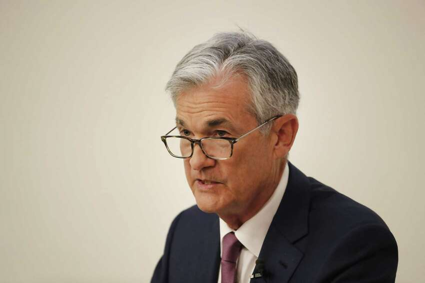 Jerome Powell, chairman of the U.S. Federal Reserve, speaks during an event at the University of Zurich in Zurich, Switzerland, on Friday, Sept. 6, 2019. PowellA said the most likely outlook for the U.S. and world economy is continued moderate growth, but the central bank was monitoring