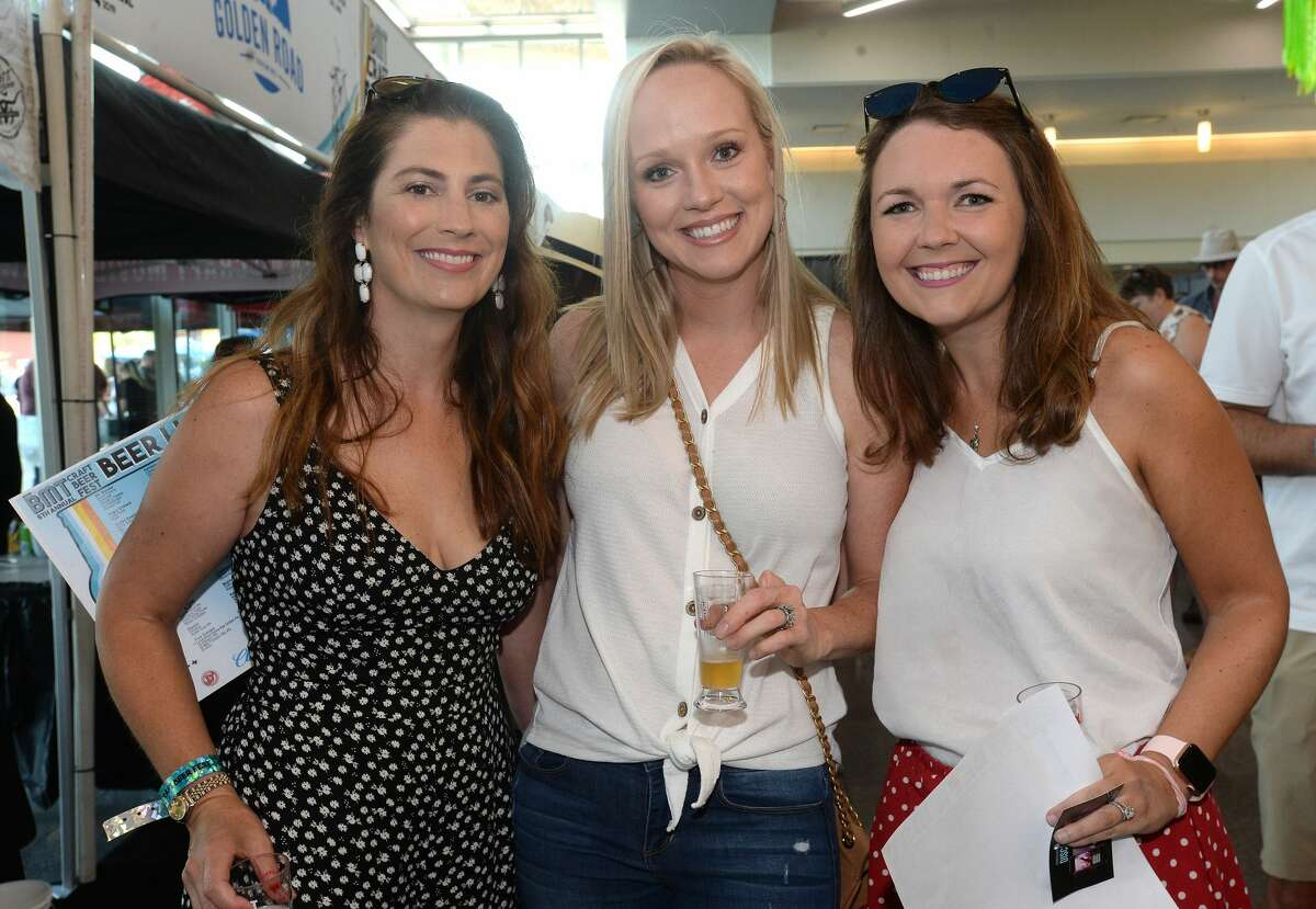 Craft beer enthusiasts gather for the 2019 Craft Beer Fest at the Event Centre in Beaumont Saturday. The event once again sold out within the first hour of ticket sales. Photo taken Friday, September 14, 2019 Kim Brent/The Enterprise