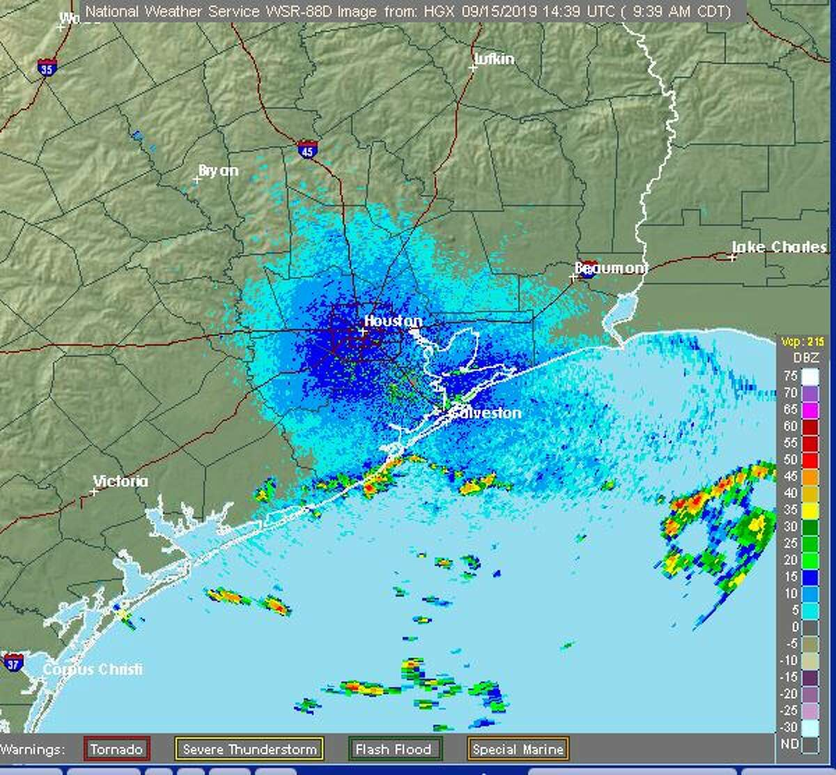 A tropical disturbance swirling off the Gulf Coast is expected to bring