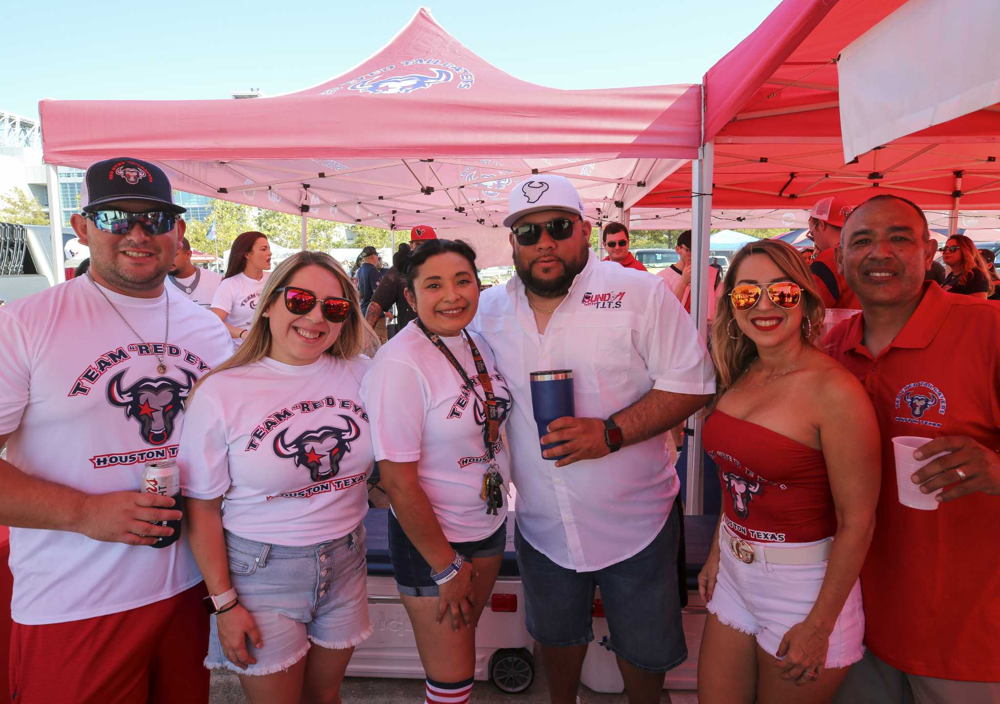 Texans tailgating fans celebrate home opener at NRG Stadium