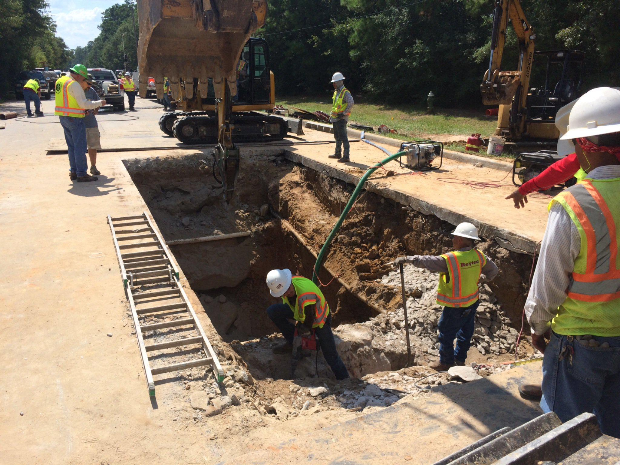 Research Forest road repairs complete in The Woodlands