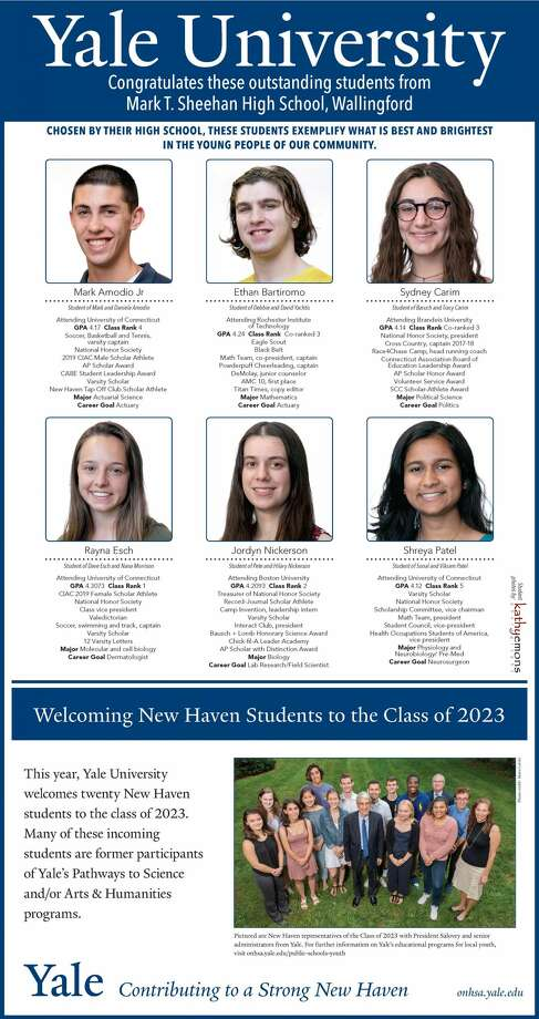 "The Register's annual ""Senior Spotlight"" series, sponsored by Yale University, spotlights talented New Haven-area high school seniors and shares information about them and their dreams for the future. Photo: Kathy Emons"