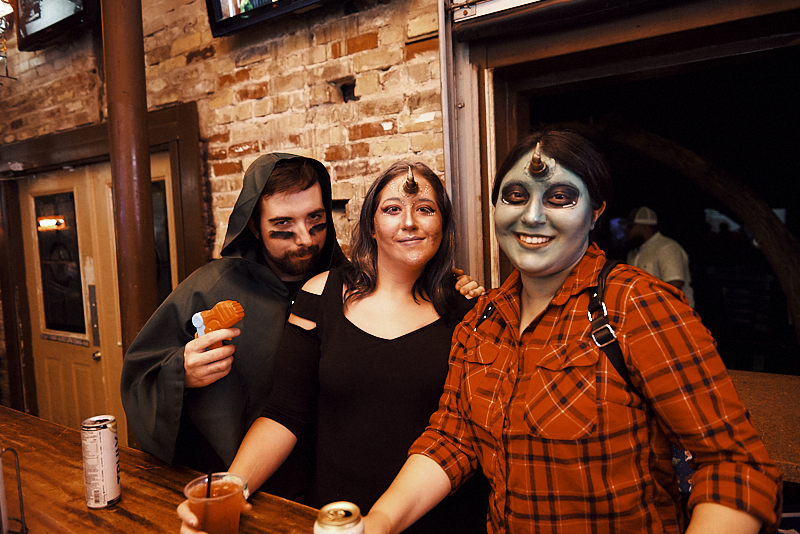Photos: San Antonians dress as aliens at Storm Area 51 Practice Pub Run