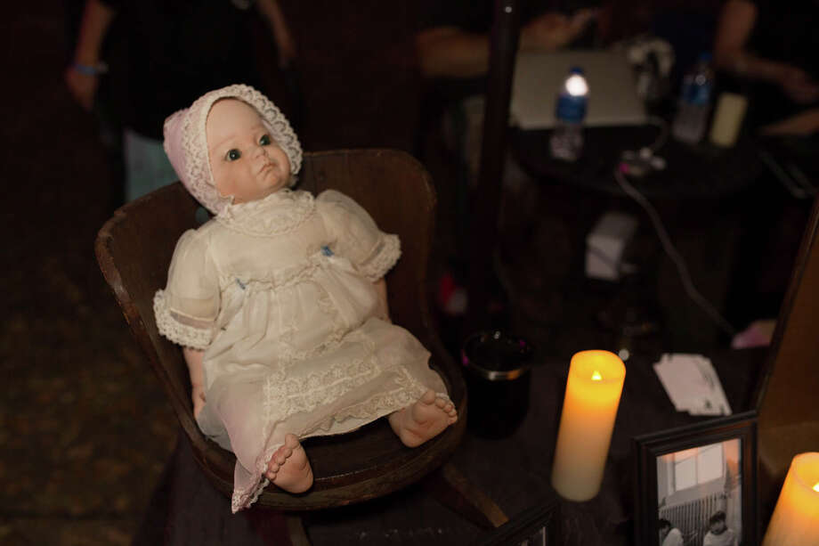 San Antonians who love to visit spooky sites ventured to Victoria's Black Swan Inn on Saturday, September 14, 2019 for the Paranormal Fest. Photo: B Kay Richter