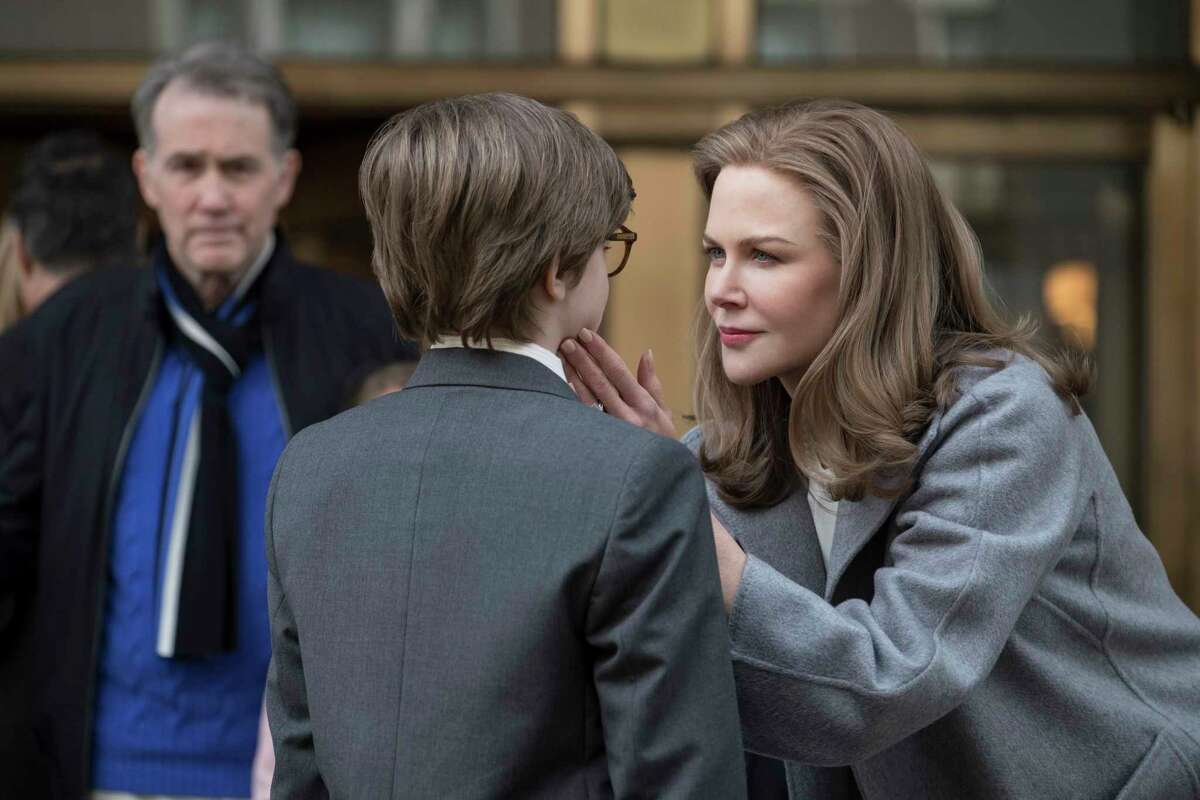 This image released by Warner Bros. Pictures shows Nicole Kidman, right, in a scene from