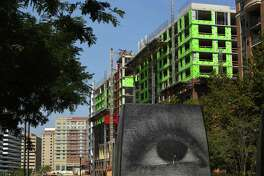 A residential housing complex is under construction in Arlington, Virginia, on Thursday, Sept. 12, 2019.