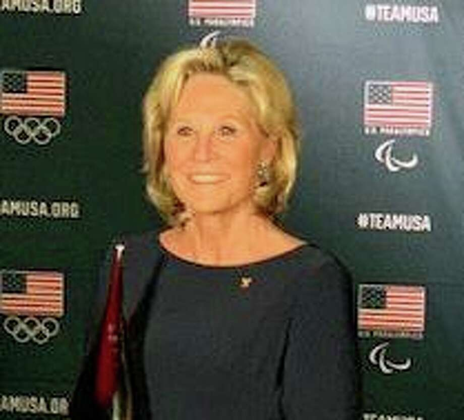 """Two-time Olympic swimming champion Donna de Varona of Greenwich will speak before the Greenwich Retired Men's Association onWednesday. She will have a conversation with David Weisbrod on """"Major Issues Surrounding the 2020 Tokyo Olympics."""" The talk is free and open to the public. Social break starts at 10:40 a.m., with the talk at 11 a.m. at the First Presbyterian Church, 1 W. Putnam Ave. For info, visit www.greenwichrma.org or contact info@greenwichrma.org. Photo: Contributed / /"""