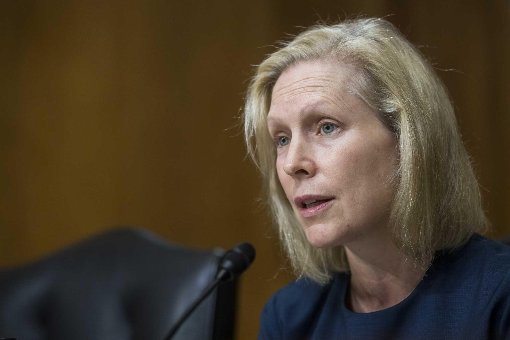 Back in New York, Sen. Gillibrand promotes FAMILY Act