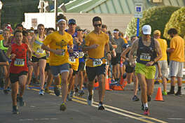 Runners filled the streets of downtown Edwardsville Saturday for the annual Painting the Town Gold 5Kfundraiser, Run for the Gold. It's part of a month-long community effort for pediatric cancer research. Last year during September, which is Pediatric Cancer Awareness Month, more than $100,000 was tallied, much of it raised by participating District 7 students.
