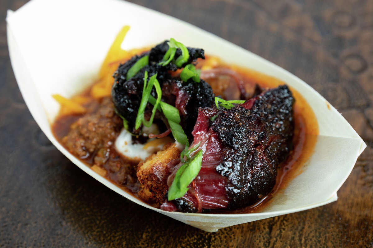 The fifth annual Houston BBQ Throwdown will be held on Sept. 29. Shown: Beef cheeks from 2018 competition.
