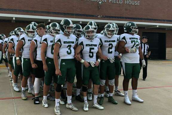The Stratford football team opened District 17-6A play with a 44-0 victory against Spring Woods at Tully Stadium. The Spartans improved to 2-1 for the season.