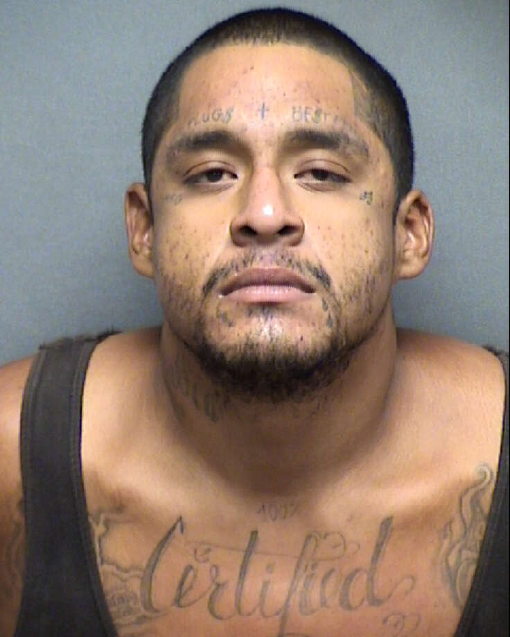 Juan Valentine Fragosa, 26, is charged with murder for allegedly strangling a man to death. Photo: Bexar County Sheriff's Office
