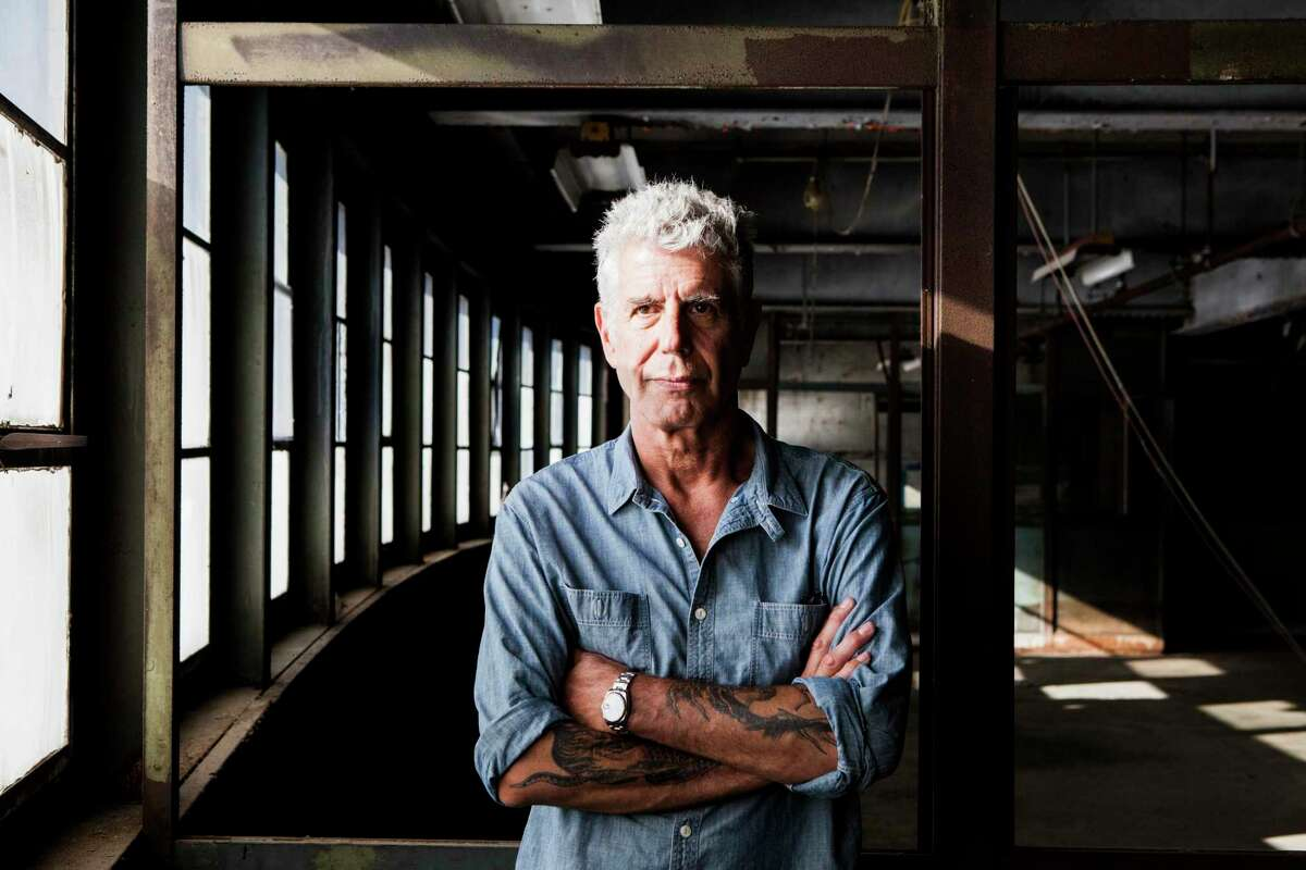 A portion of the estate of Anthony Bourdain will be exibited in New Braunfels in October as part of an online auction.