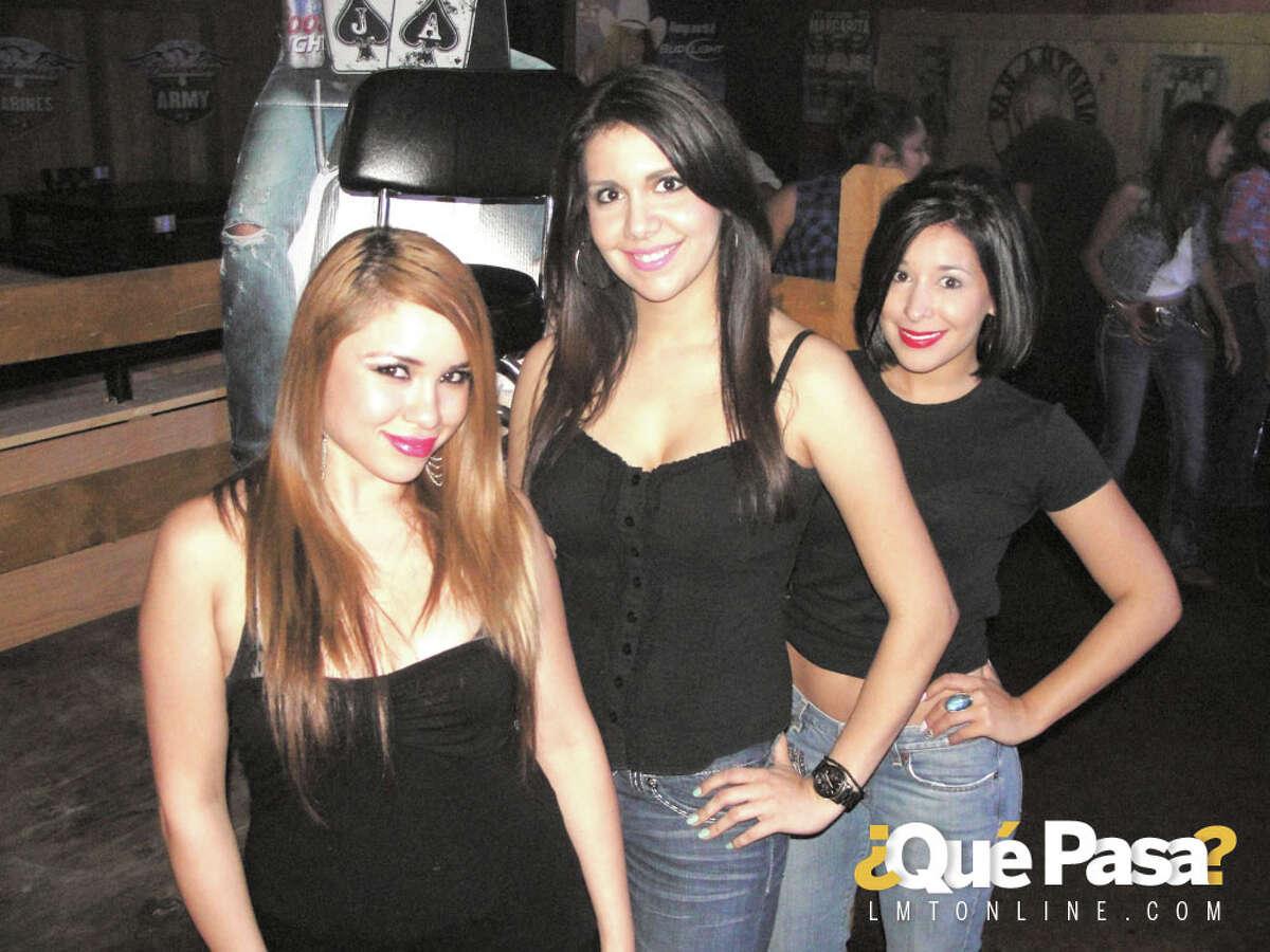 Anna Laura Martinez, Laura Anne Herrera and Shelby Liendo at Cowboys ¿Qué Pasa? 2012